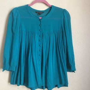 Blue French Connection Blouse